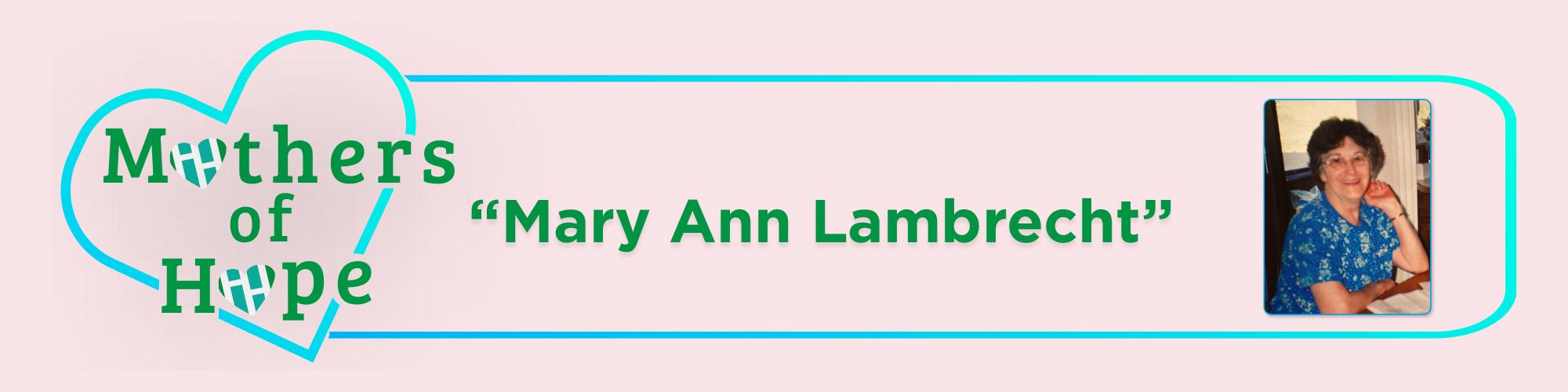 Mary-Ann-Lambrecht